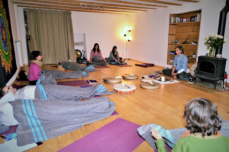 stage chamanisme méditation marche de vision